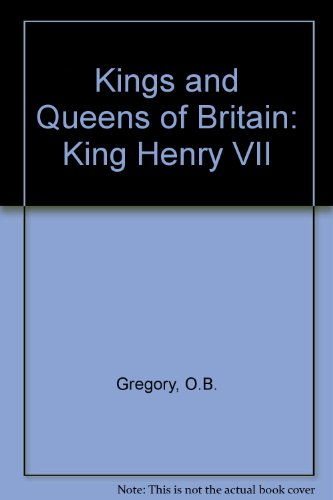 9780080198101: Kings and Queens of Britain: King Henry VII