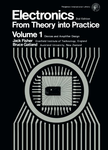 9780080198552: Electronics-From Theory Into Practice: Pergamon International Library of Science, Technology, Engineering and Social Studies: v. 1 (Applied electricity and electronics)
