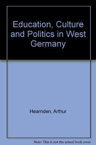 9780080199153: Education, Culture and Politics in West Germany