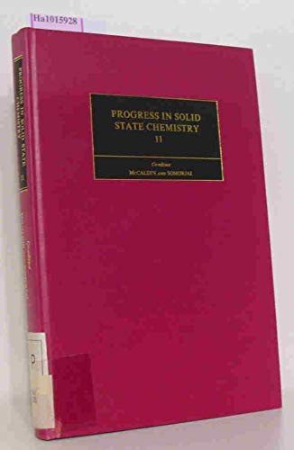 9780080203492: Progress in solid state chemistry