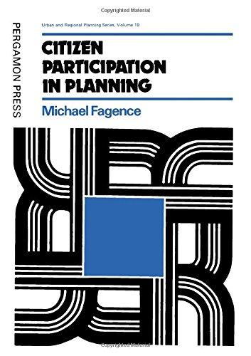 9780080203973: Citizen Participation in Planning (Urban & Regional Planning)