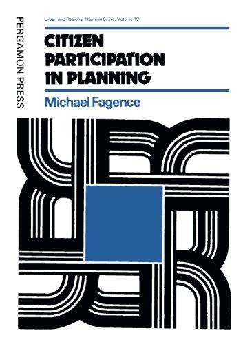 9780080203980: Citizen Participation in Planning (Urban & Regional Planning)