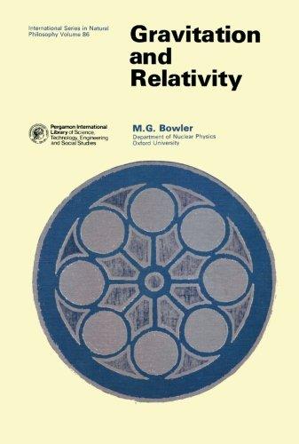Gravitation and Relativity: Bowler, M. G.