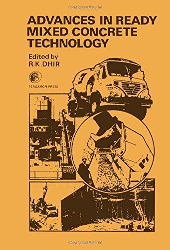 Advances Ready Mixed Concrete Technology: Dhir, Ravindra K