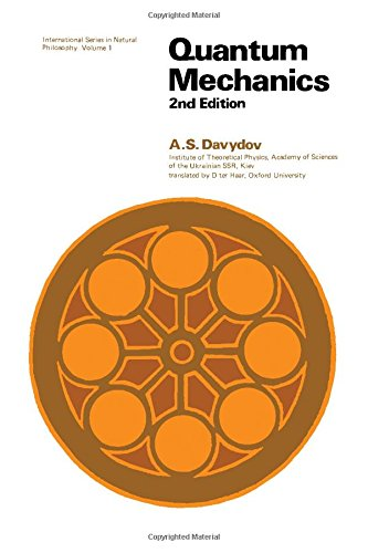9780080204383: Quantum Mechanics (Monographs in Natural Philosophy)