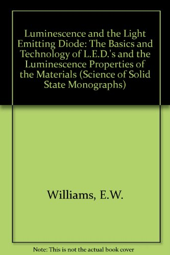 9780080204420: Luminescence and the Light Emitting Diode: The Basics and Technology of L.E.D.'s and the Luminescence Properties of the Materials (Science of Solid State Monographs)