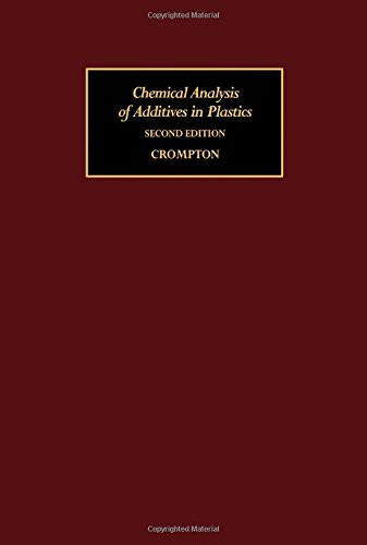 9780080204970: Chemical Analysis of Additives in Plastics