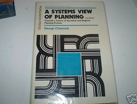 9780080206264: Systems View of Planning (Urban and regional planning series)