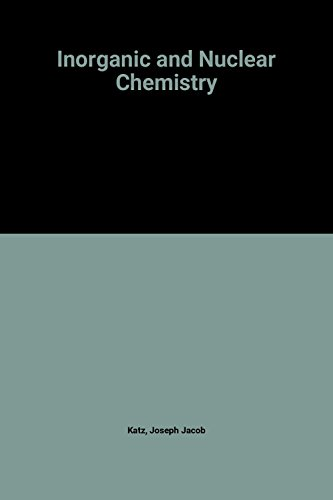 9780080206370: Inorganic & Nuclear Chemistry: H. H. Hyman Memorial Volume