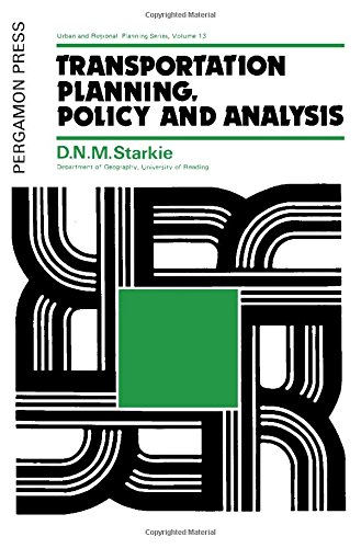 9780080209098: Transportation Planning Policy and Analysis (Urban and regional planning series)