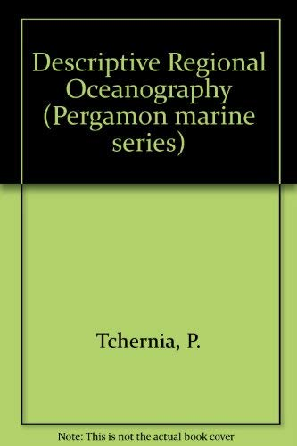 9780080209258: Descriptive Regional Oceanography (Pergamon marine series)