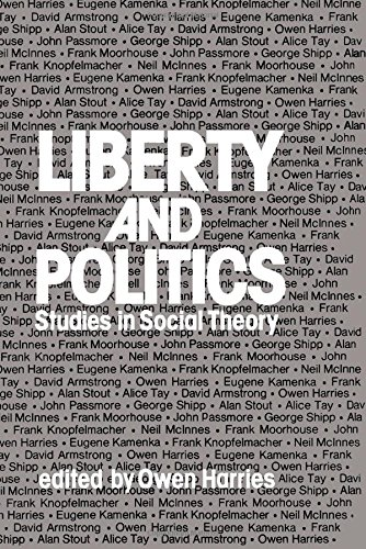 9780080209272: Liberty and politics: Studies in social theory