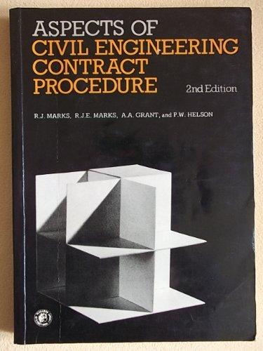 9780080210124: Aspects of civil engineering contract procedure (Pergamon international library of science, technology, engineering and social studies)