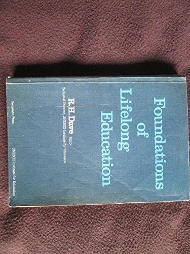 9780080211916: Foundations of Lifelong Education (Studies in Lifelong Education)