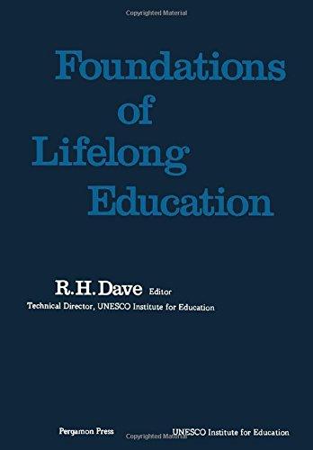 9780080211923: Foundations of Lifelong Education (Studies in lifelong education)