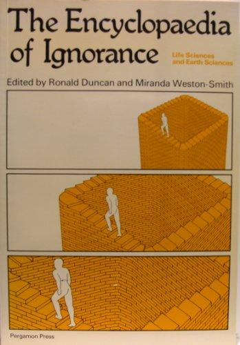 9780080212319: Encyclopaedia of Ignorance: v. 2: Physics, Mathematics and Astronomy