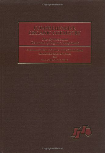 9780080213156: Sulphur, Selenium, Silicon, Boron, Organometallic Compounds: Volume 3 (Comprehensive Organic Chemistry)