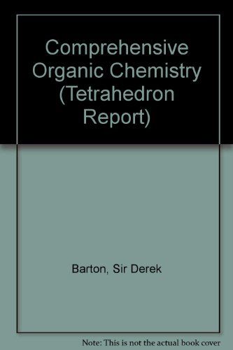 9780080213194: Comprehensive Organic Chemistry: the Synthesis and Reactions of Organic Compounds (6 Volumes)