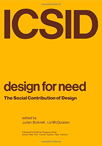9780080215006: Design for Need: The Social Contribution of Design