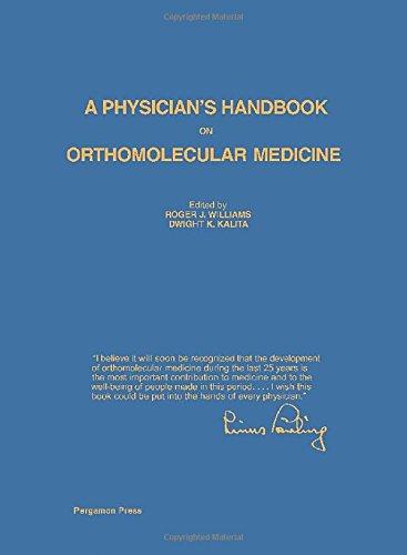 9780080215334: Physician's Handbook on Orthomolecular Medicine