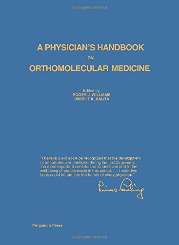 9780080215334: A Physician's Handbook on Orthomolecular Medicine