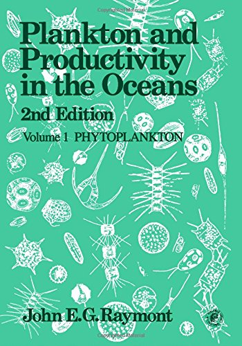 9780080215525: Plankton and Productivity in the Oceans: Phytoplankton v. 1