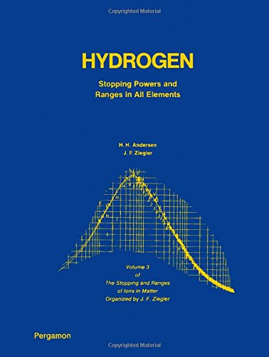 9780080216058: Hydrogen Stopping Powers and Ranges in All Elements (The Stopping and Ranges of Ions in Matter, Vol. 3)