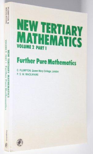 9780080216447: New Tertiary Mathematics: Vol 2, Part 2