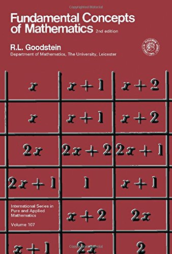9780080216652: Fundamental Concepts of Mathematics (Pure & Applied Mathematics Monograph)