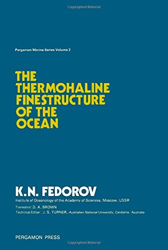 9780080216737: Thermohaline Fine Structure of the Ocean (Pergamon marine series)