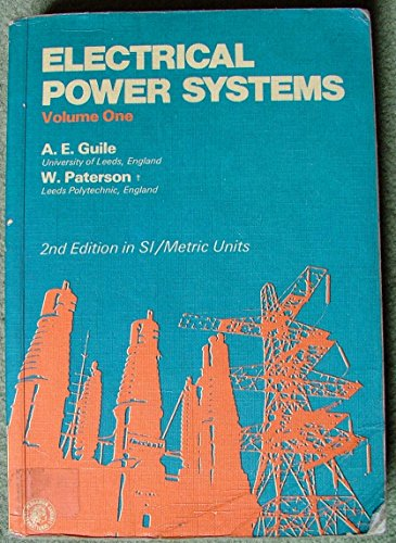 9780080217291: Electrical Power Systems: v. 1