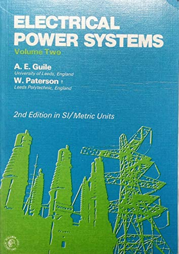 9780080217314: Electrical Power Systems, Vol. 2