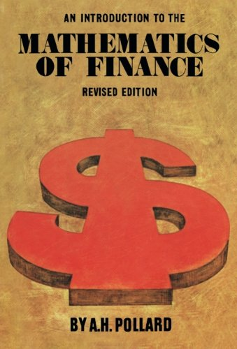 9780080217963: An Introduction to the Mathematics of Finance