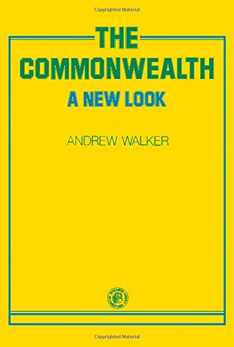 9780080218236: The Commonwealth: A new look (Pergamon international library of science, technology, engineering, and social studies)