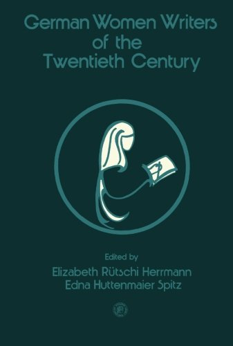9780080218281: German Women Writers of the Twentieth Century (Pergamon international library of science, technology, engineering, and social studies)