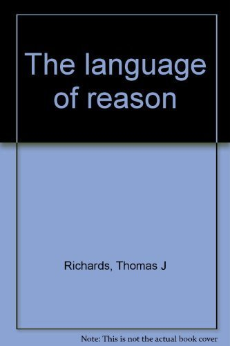 The Language of Reason