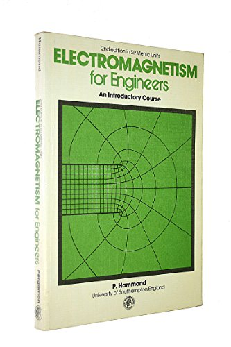 9780080221045: Electromagnetism for Engineers: An Introductory Course