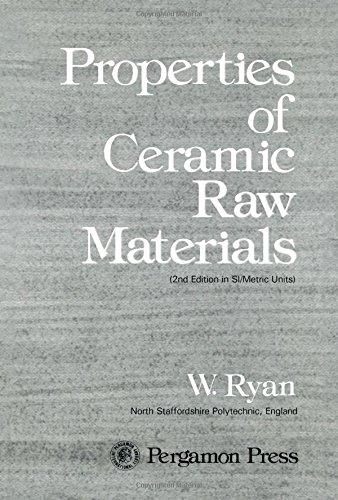 9780080221137: Properties of Ceramic Raw Materials (Pergamon international library)