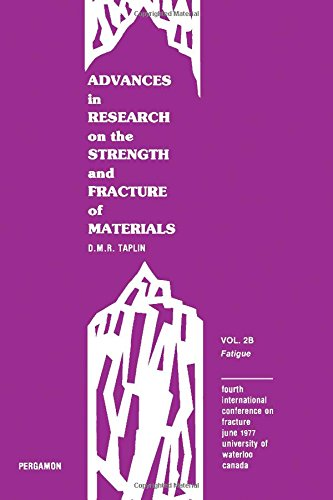 Advances in research on the Strength and Fracture of Materials Vol. 2B Fatigue: Taplin, D. M. R.