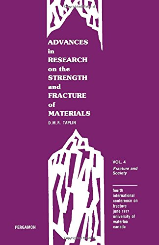 9780080221465: Advances in research on the strength and fracture of materials: Fracture 1977 : Fourth International Conference on Fracture, June 1977, University of Waterloo, Canada