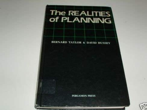 9780080222264: Realities of Planning