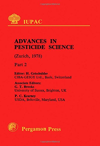 9780080223490: Advances in Pesticide Science: International Conference Proceedings (IUPAC Publications)