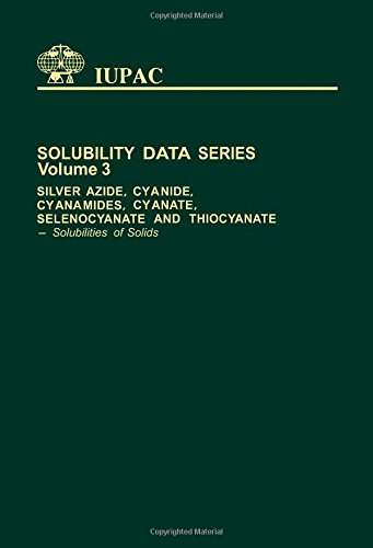9780080223506: Silver Azide, Cyanide, Cyanamides, Cyanate, Selenocyante and Thiocyanate: Solubilities of Solids (Solubility Data)