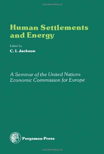 9780080224114: Human Settlements and Energy: Seminar