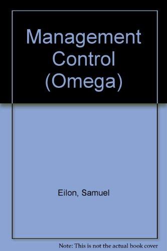 9780080224817: Management Control (Omega)