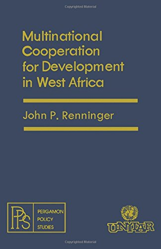 9780080224909: Multinational Co-operation for Development in West Africa (Pergamon policy studies)