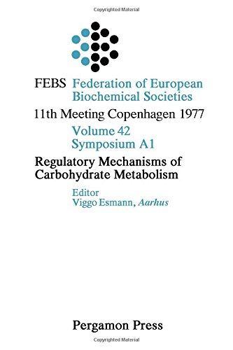 9780080226231: Regulatory Mechanisms of Carbohydrate Metabolism ([Publications])