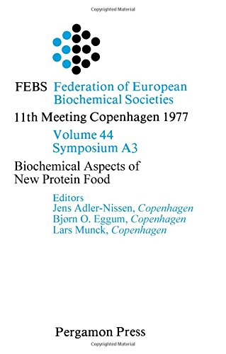 9780080226255: Biochemical Aspects of New Protein Food (Proceedings of the 11th FEBS meeting ; v. [3])