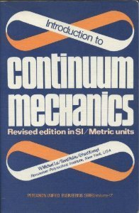 9780080226989: Introduction to Continuum Mechanics (Unified Engineering)