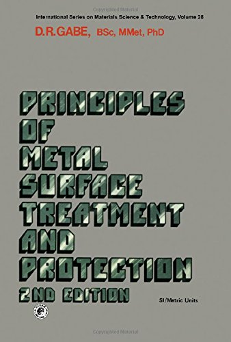 9780080227030: Principles of metal surface treatment and protection (International series on materials science, and technology ; v. 28)